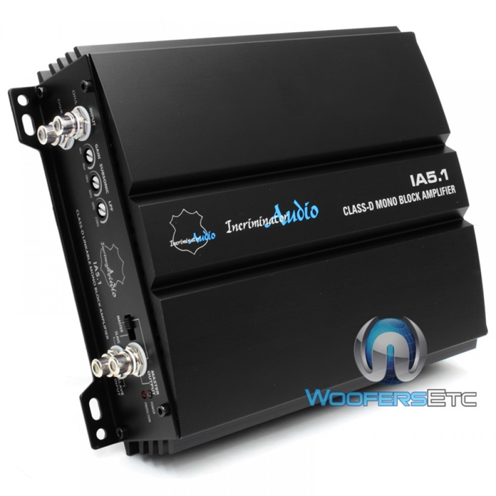 Incriminator Audio Amplifiers