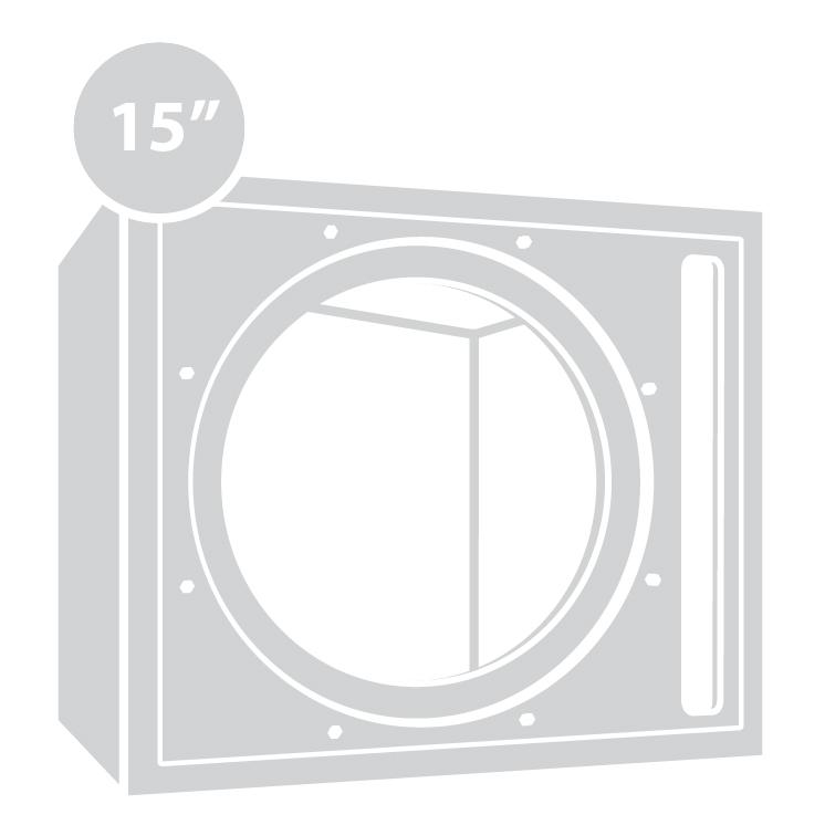 """15"""" Enclosures"""