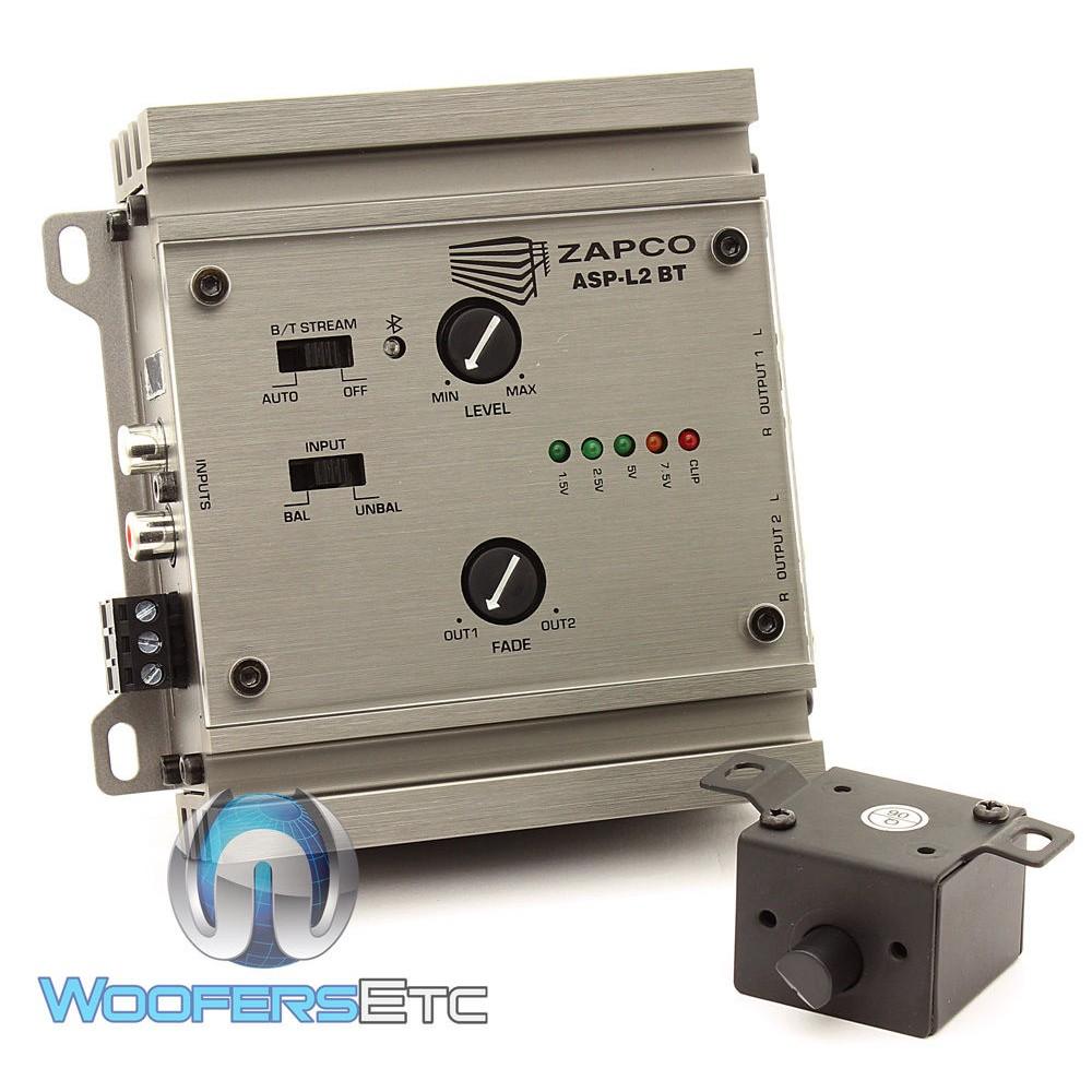 Zapco ASP-L2 BT 2-Channel Line Driver with Bluetooth
