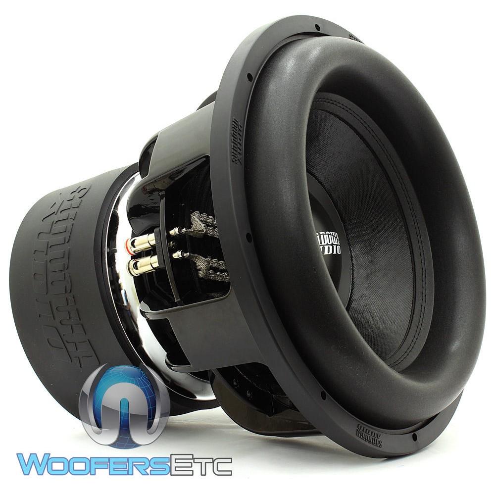 "Sundown Audio Z-18 V.5 D1 18"" 2000 Watts RMS Dual 1-Ohm Z-V.5 Series Subwoofer"