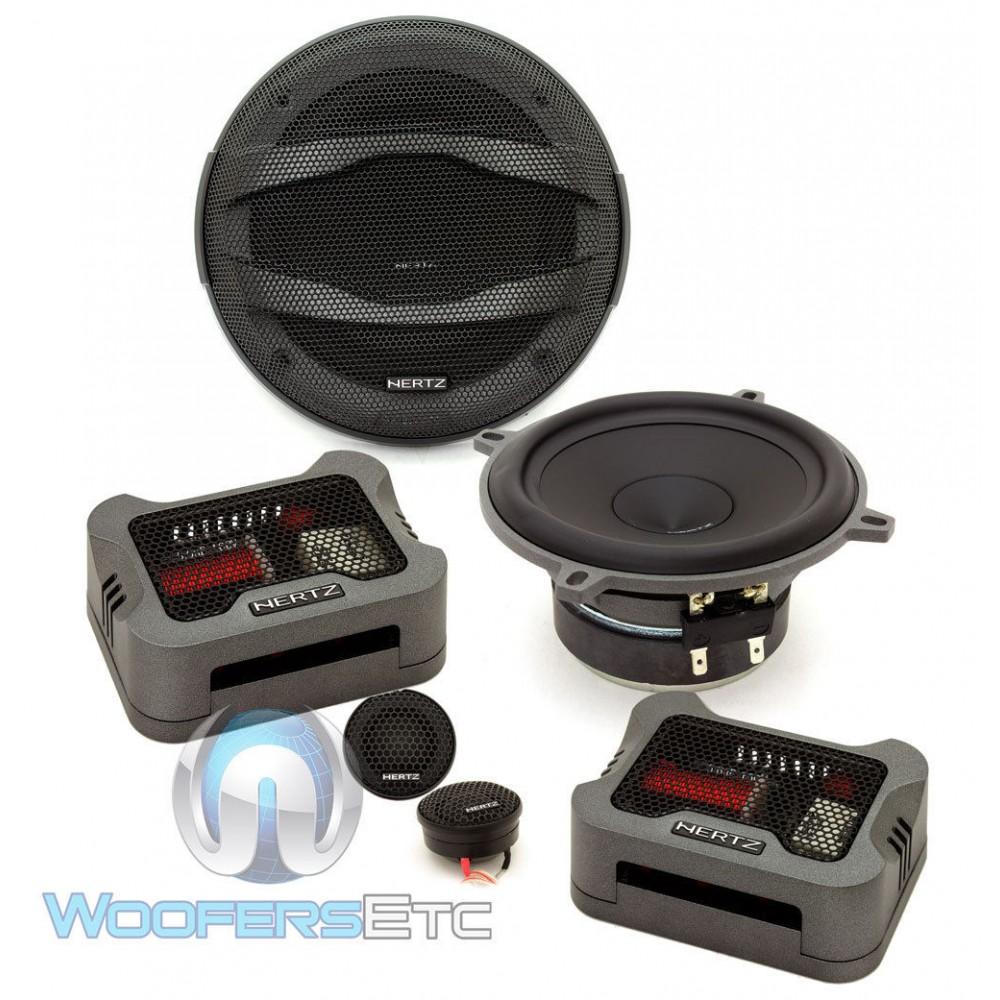 "Hertz MPK130.3 5.25"" 100 Watts RMS Mille Pro Series Component Speakers"