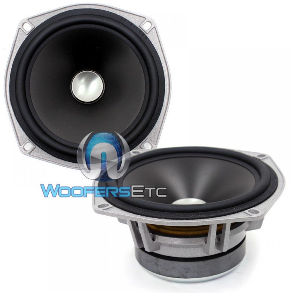 Jl Audio Zr 525cw Midrange Speakers And Grills From