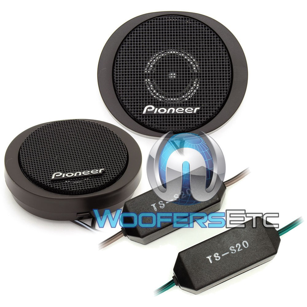 Pioneer TS-S20 20mm High Power Component Dome Tweeters