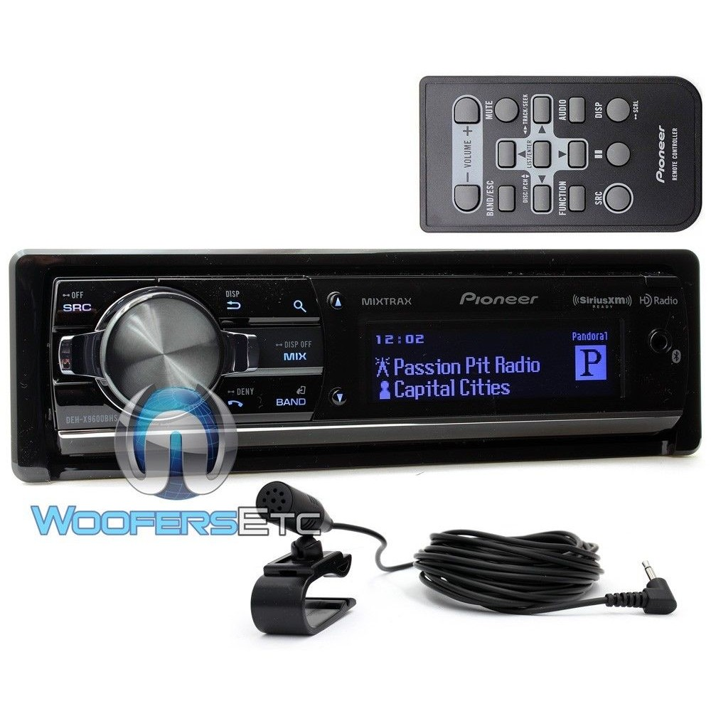 Deh X9600bhs Pioneer In Dash Cd Mp3 Wma Stereo Receiver