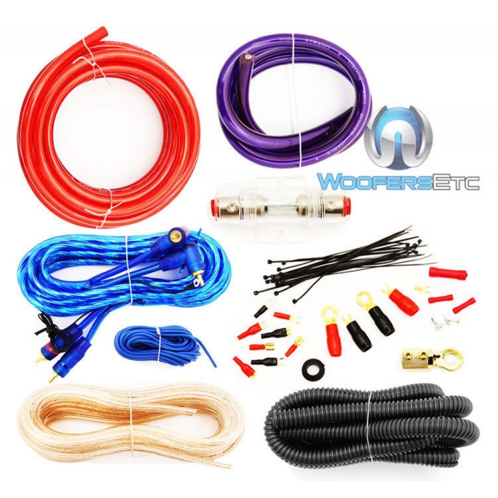 Wiring Kit For Amp Diagrams Sound Quest 1000 Watt 4 Gauge Wire Darvexcom Pro Amplifier Install Power Epiphone Emperor Guitars