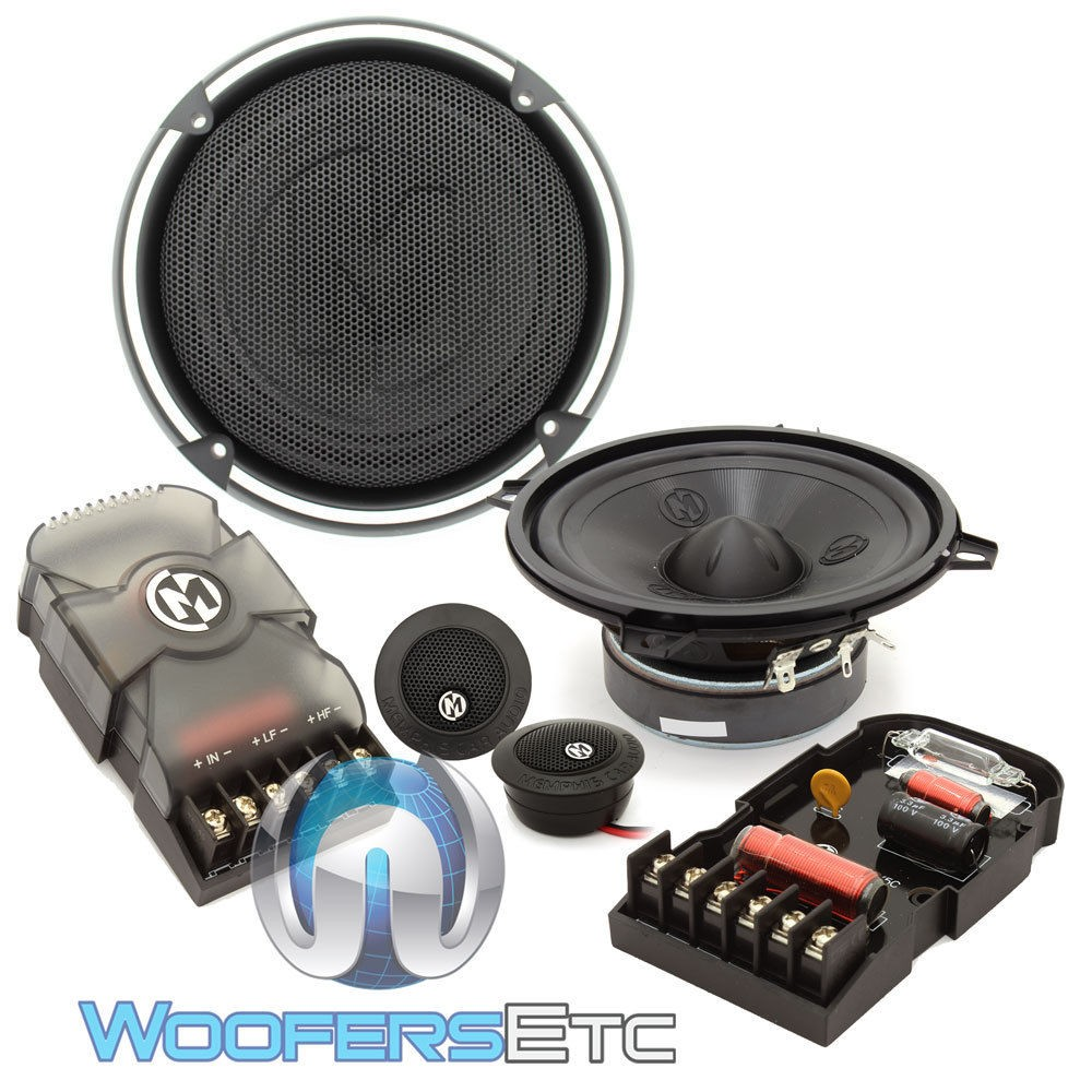 "15-PRX5C - Memphis 5.25"" 50W RMS Power Reference Series Component Speakers System"