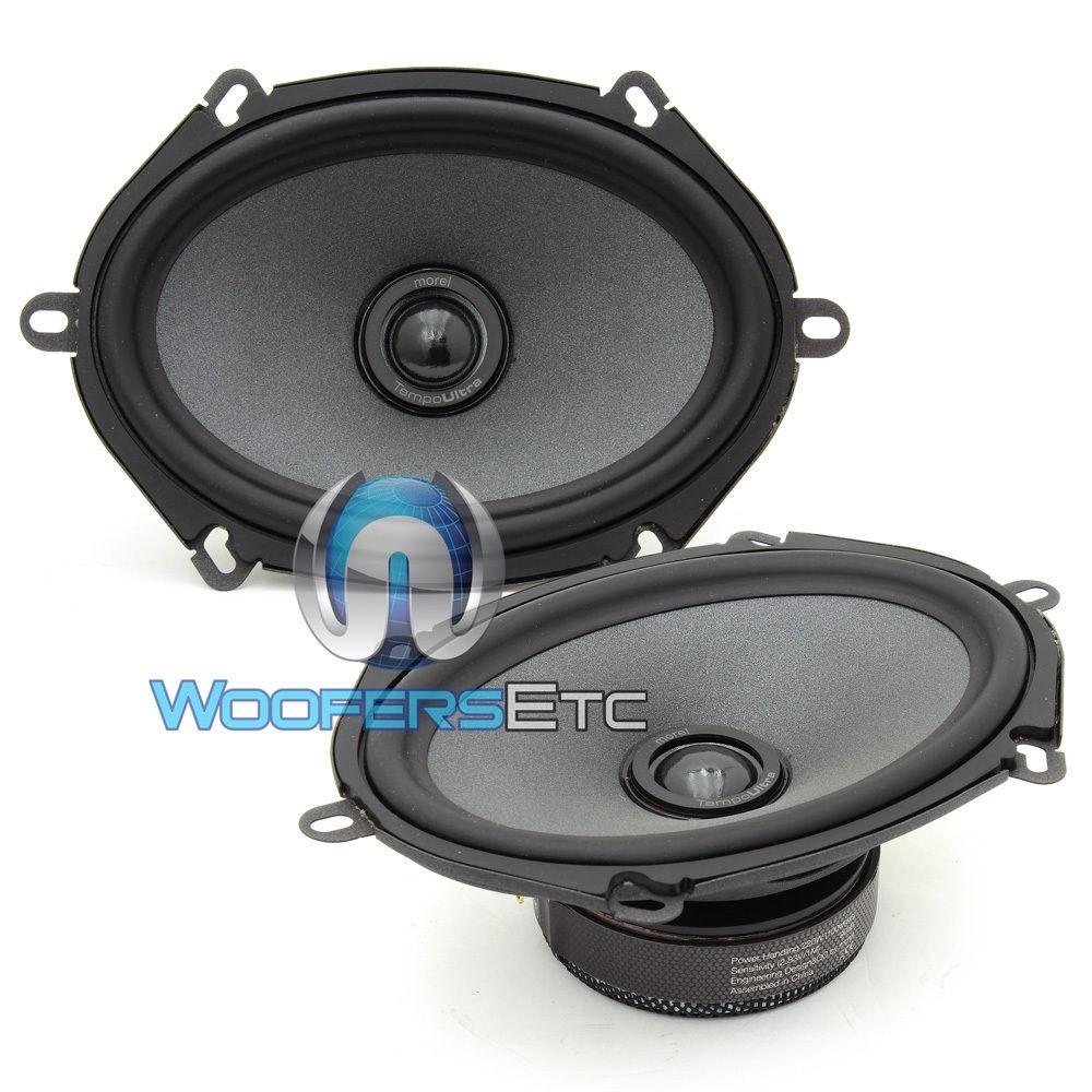 "Tempo UIltra Integra 572 - Morel 5"" x 7"" / 6"" x 8""  Coaxial Speakers"