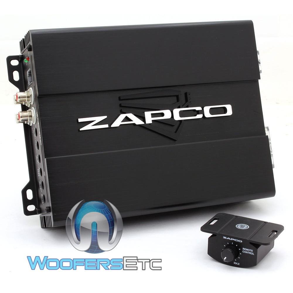 Zapco ST-500XM II 500W RMS Monoblock Class D Car Amplifier