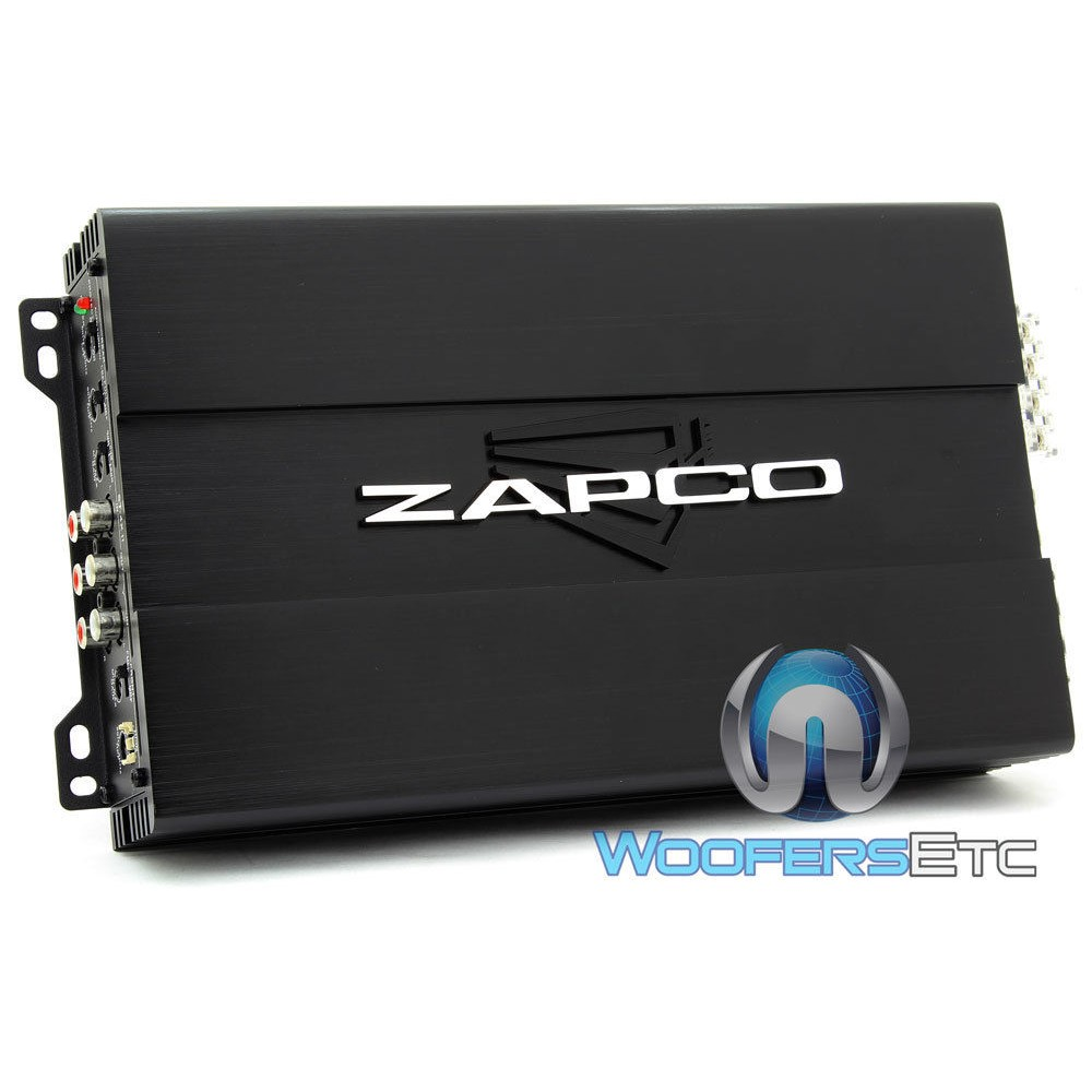 st 4x ii zapco 4 channel 480w rms class ab amplifier. Black Bedroom Furniture Sets. Home Design Ideas