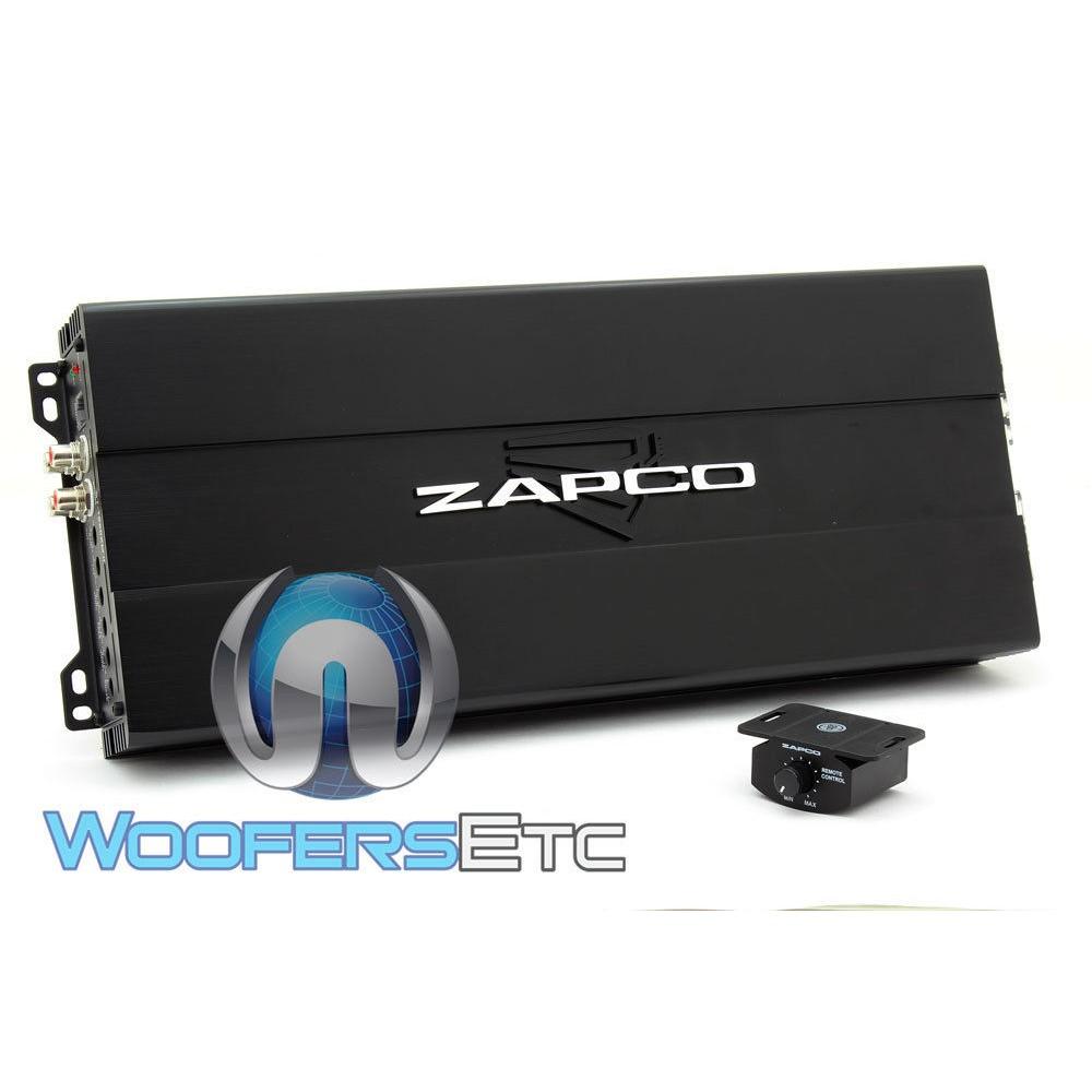 Zapco ST-1650XM II 1650W RMS Monoblock Class D Car Amplifier