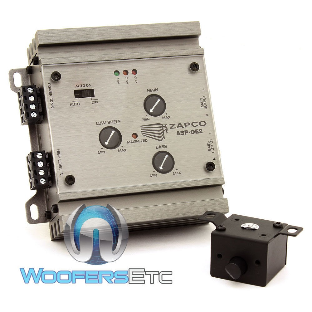Zapco ASP-OE2 OEM 2/4 Channel Signal Level Converter