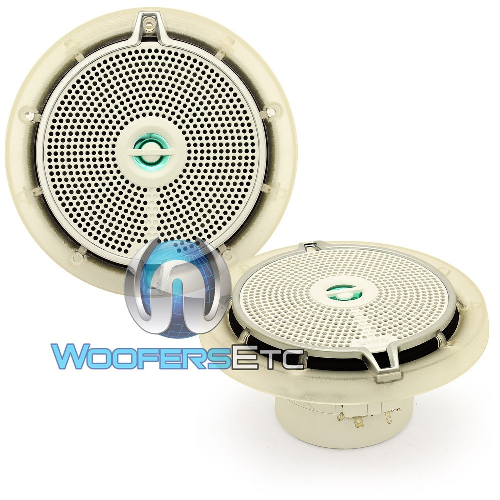 652m Infinity 6 5 Quot 75w Rms 2 Way Coaxial Marine Speakers
