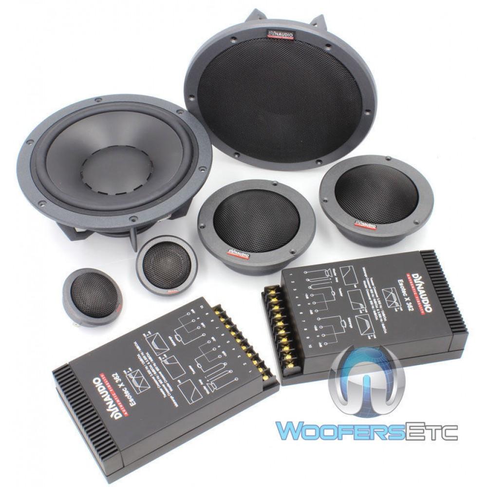 Esotec system 342 dynaudio 7 3 way component speakers for Woofer speaker system