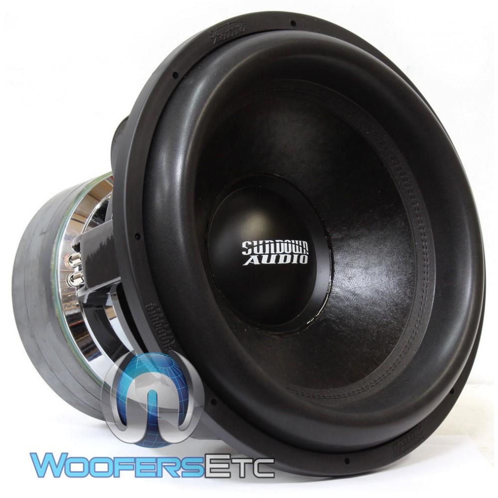 "Sundown Audio Team 18 D0.7 18"" 5000 Watt RMS Dual 0.7-Ohm Team Series Subwoofer"