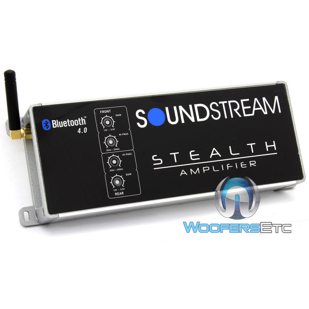 St41000db Soundstream 4 Channel 1000w Max Class D Motorcycle 250 Watt Rms 4channel Car Amplifier Amp Wire Kit Audio Savings With Bluetooth