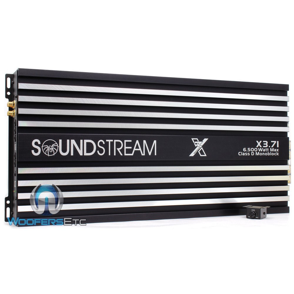 X3.71 - Soundstream Monoblock 6500 Watt Competition Series Amplifier