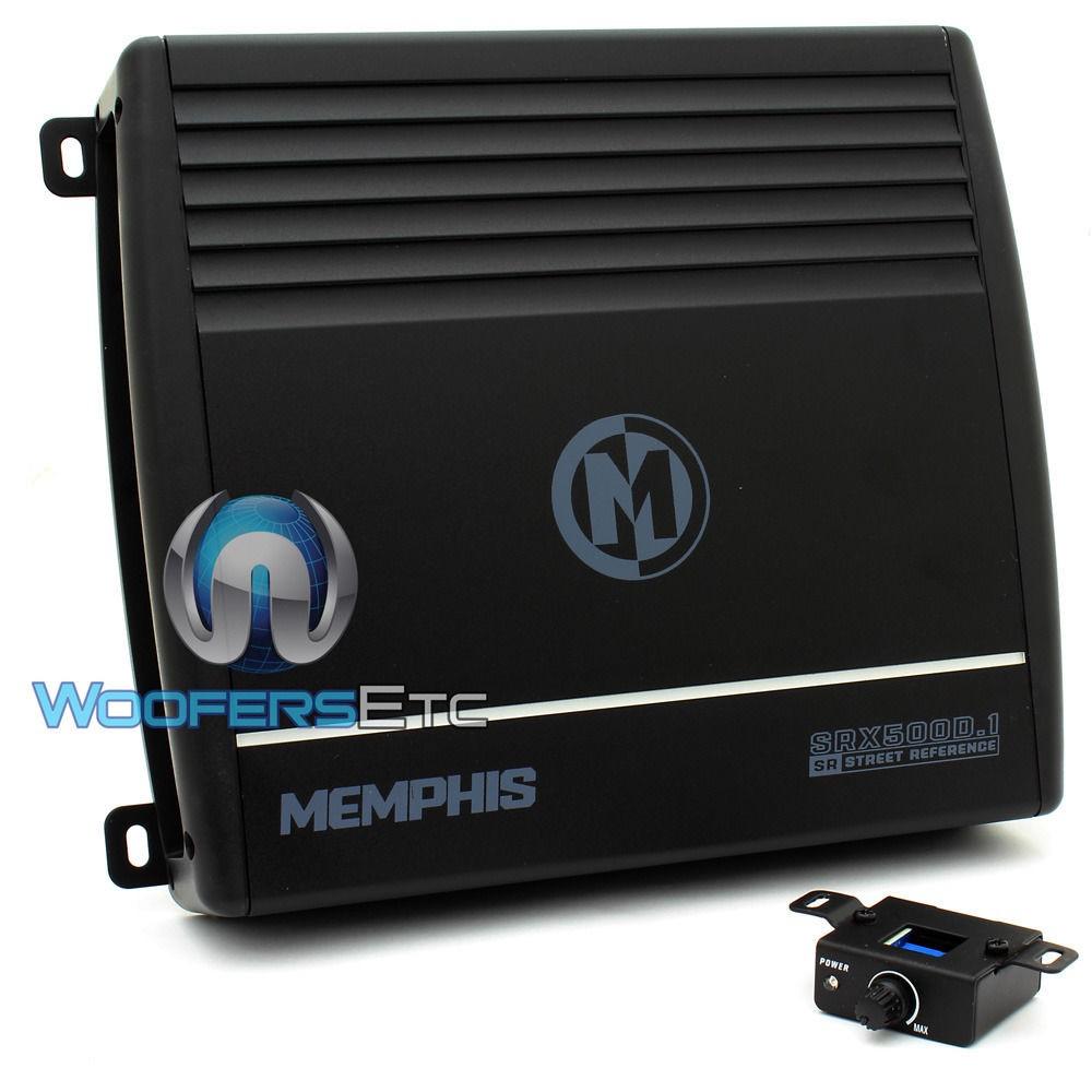 16-SRX500D.1 - Memphis Monoblock 500W RMS Street Reference Amplifier