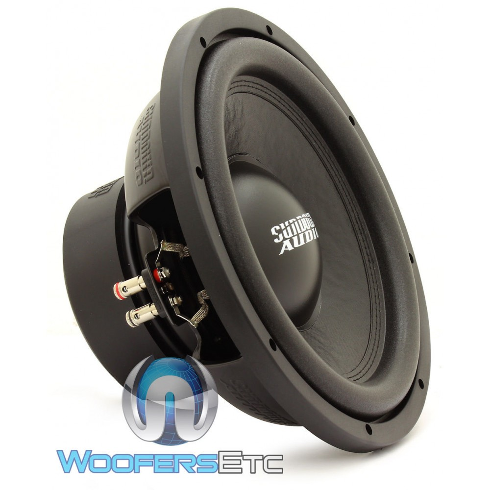 "Sundown Audio E-12 D2 v.4 12"" 500W RMS Dual 2-Ohm E Series Subwoofer"
