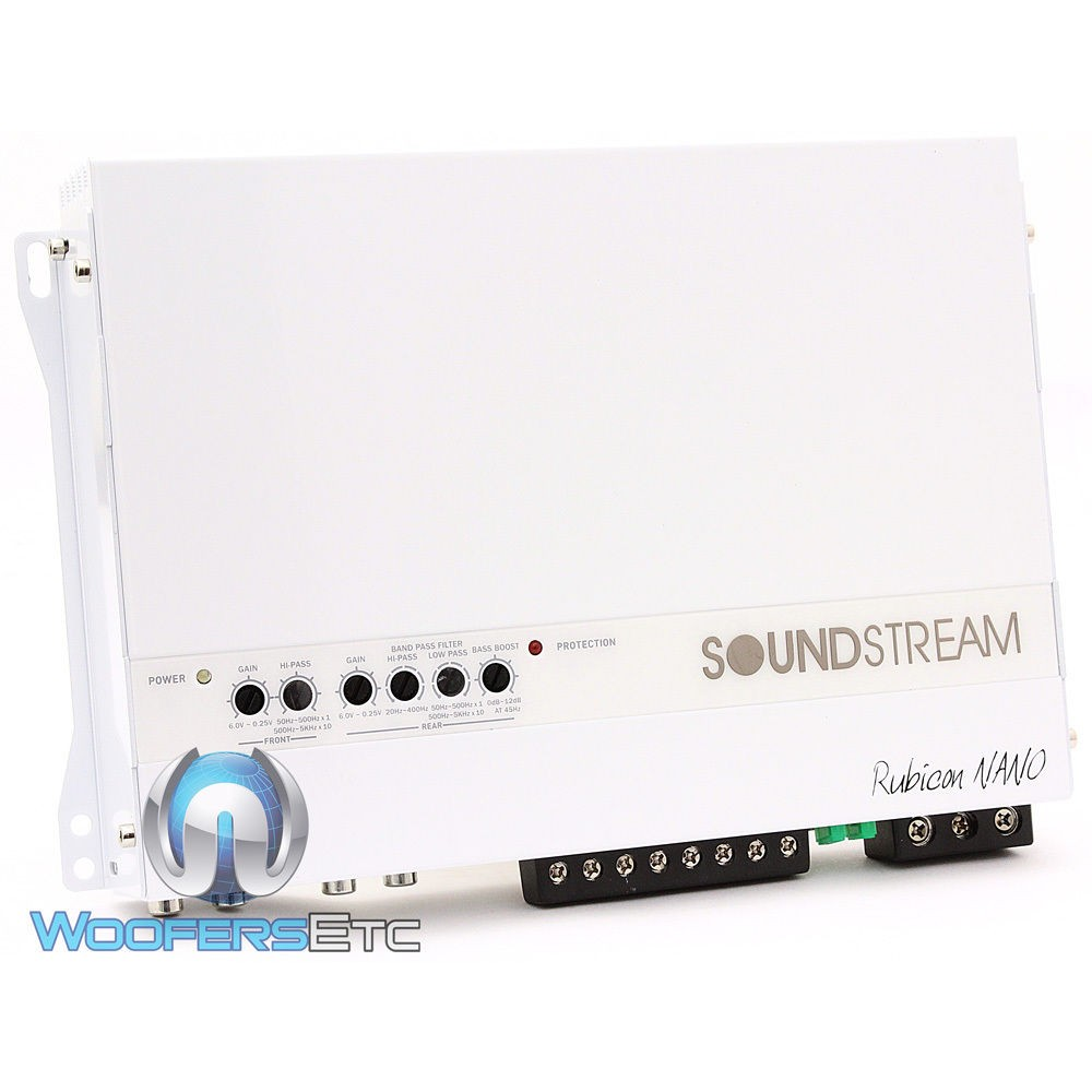 MR4.1400D - Soundstream 4-Channel 700W RMS Class D Marine Amplifier