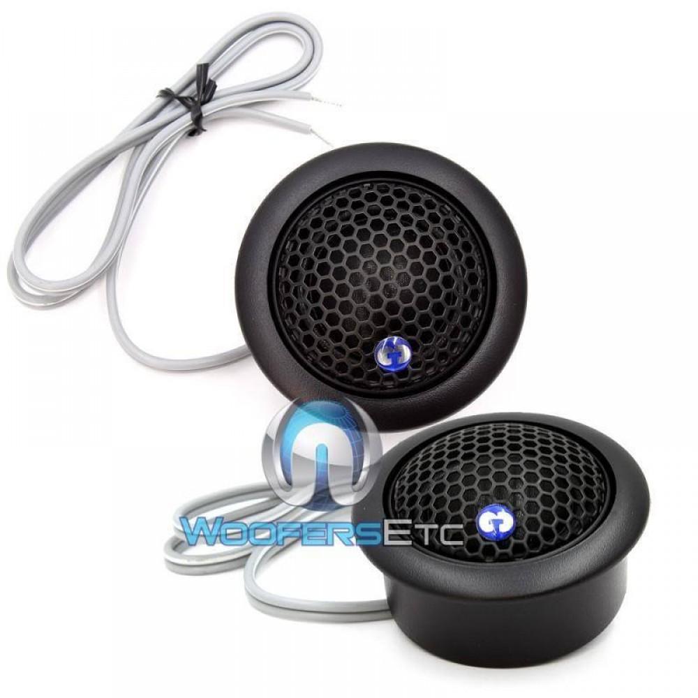 "TW-25S - CDT Audio 1"" 4 ohm AudioPhile Silk Dome Tweeters"