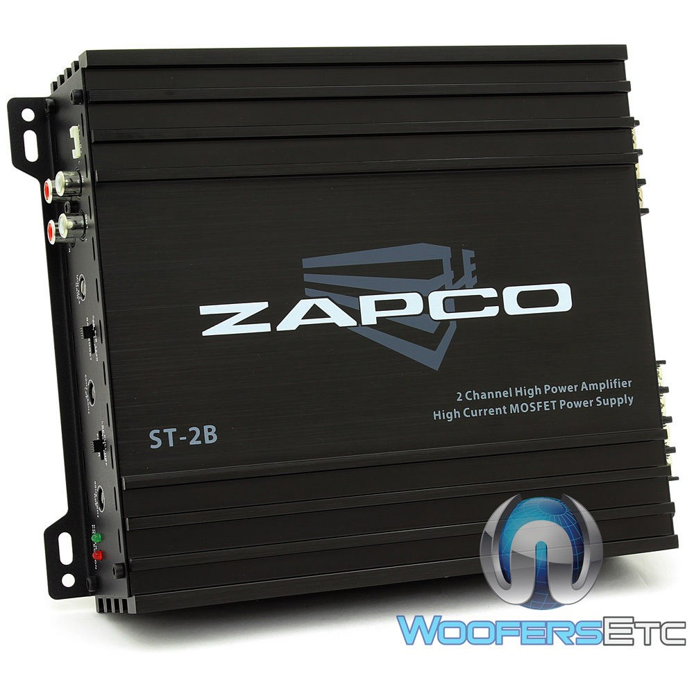 zapco st 2b 2 channel full range class a b amplifier. Black Bedroom Furniture Sets. Home Design Ideas
