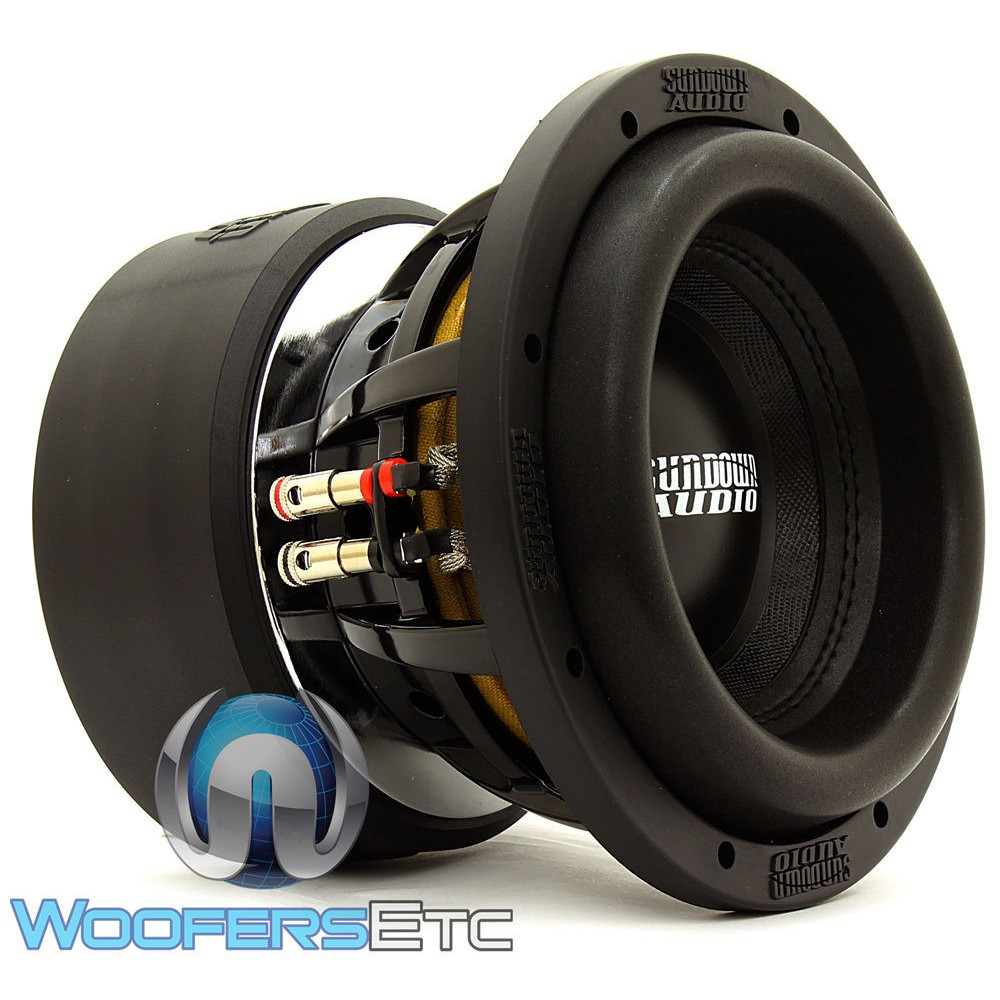 Sundown Audio X-8 V.2 D4 8 Inch Dual 4-Ohm X-V.2 Series