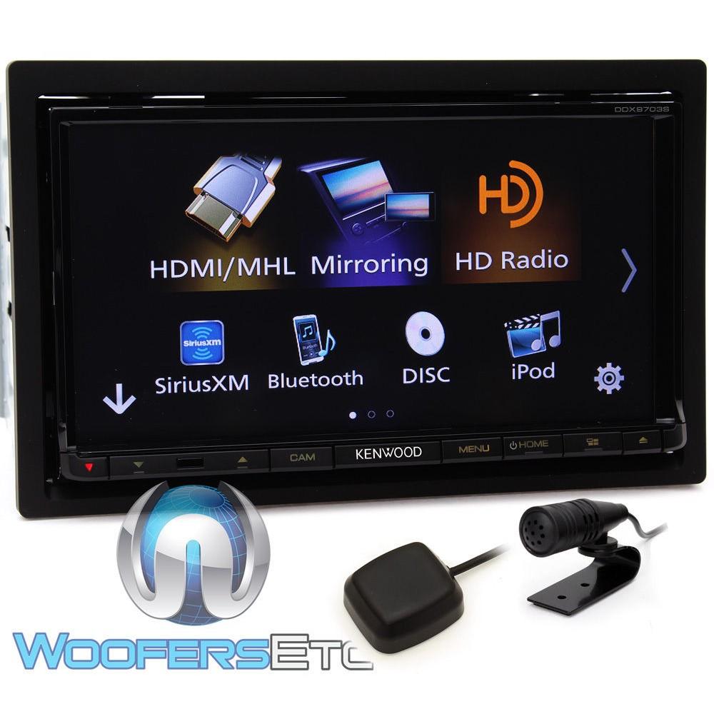 kenwood ddx9703s in dash 2 din inch touchscreen dvd. Black Bedroom Furniture Sets. Home Design Ideas
