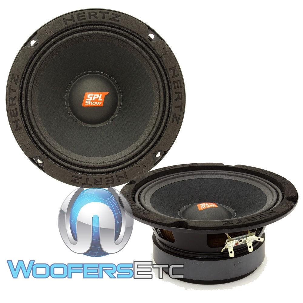 Hertz SV 165.1 6.5 Inch 400 Watts Midrange Speakers
