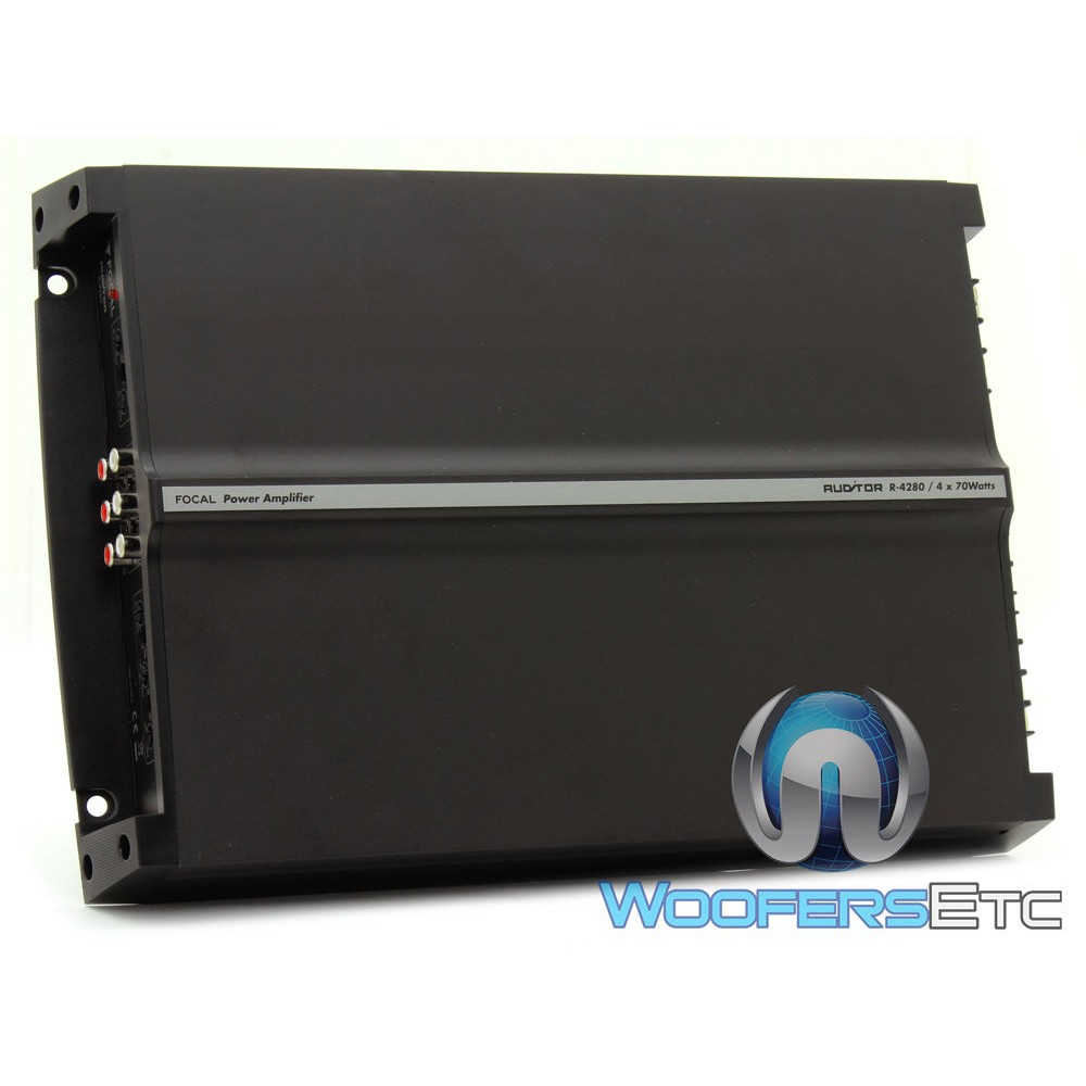 Focal Auditor R-4280 4-Channel 560 Watts Max Class AB Amplifier