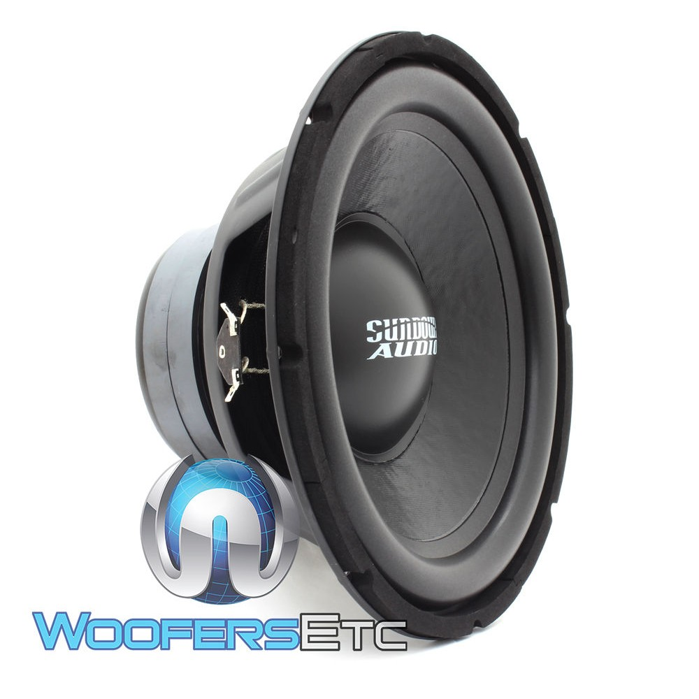"Sundown Audio LCS-12 D4 12"" Dual 4-Ohm 300 Watts RMS Subwoofer"