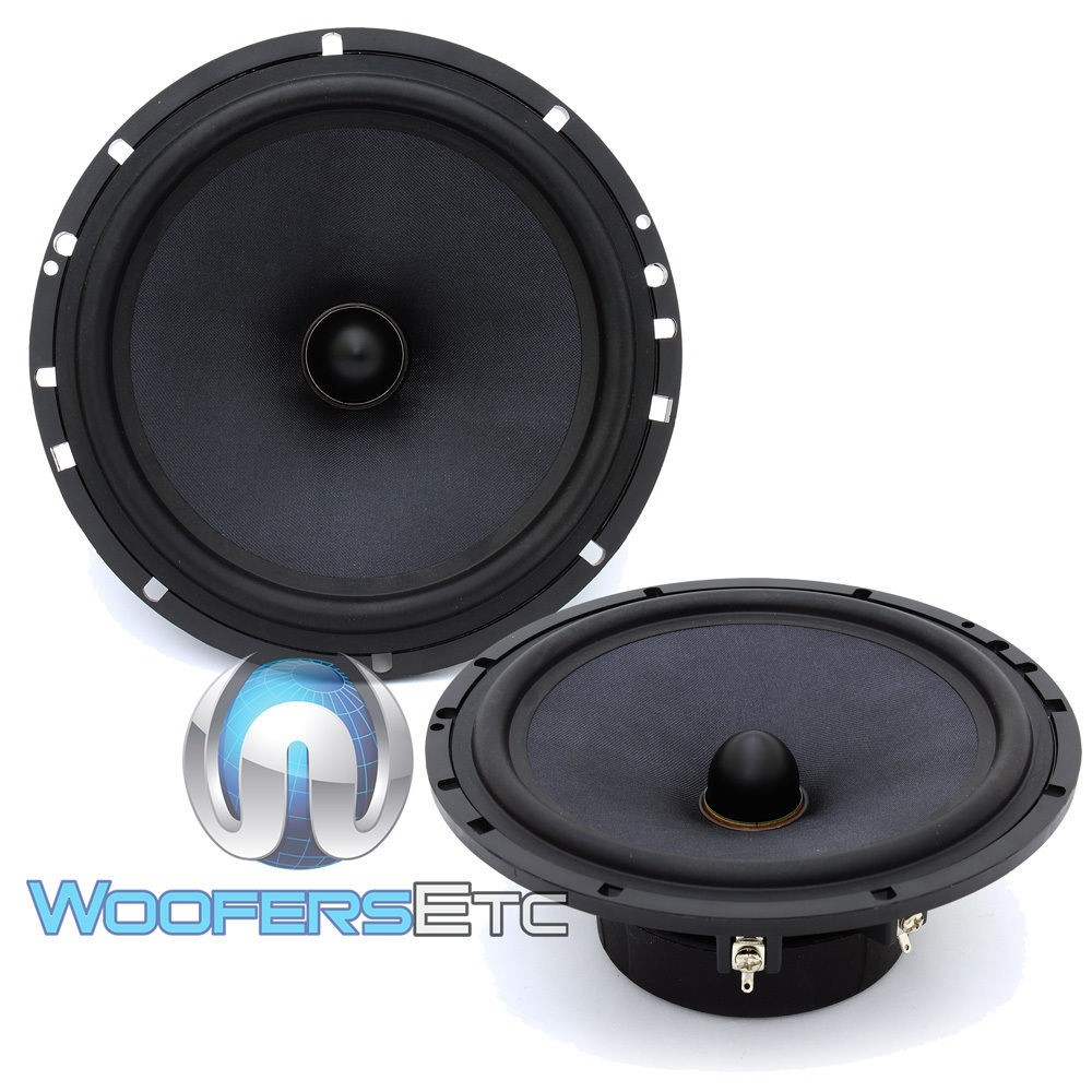 "Diamond Audio SX-6V 6.5"" 120 Watts RMS Mid-Range Speakers"
