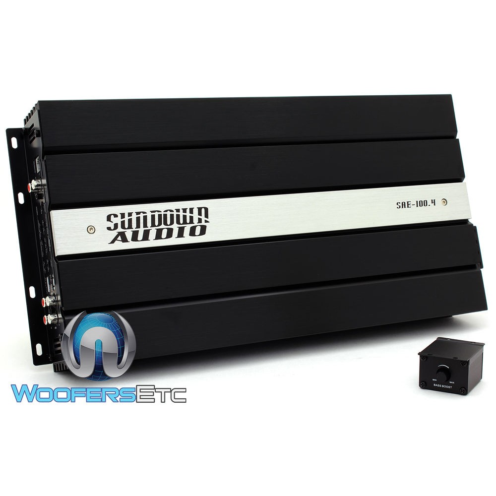 Sundown Audio SAE-100.4 4-Channel Full Range Class AB Amplifier