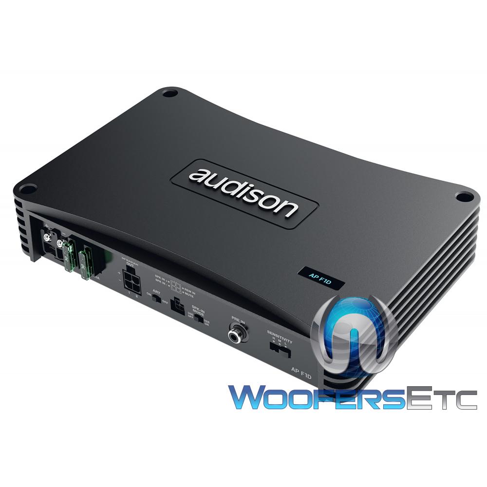 Audison AP F1D Monoblock 1000W Rms 1 Ohm Amplifier