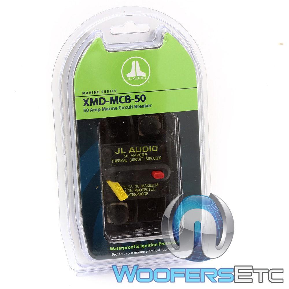 XMD-MCB-50 - JL Audio 50 Amp Waterproof Ignition Protected Circuit Breaker
