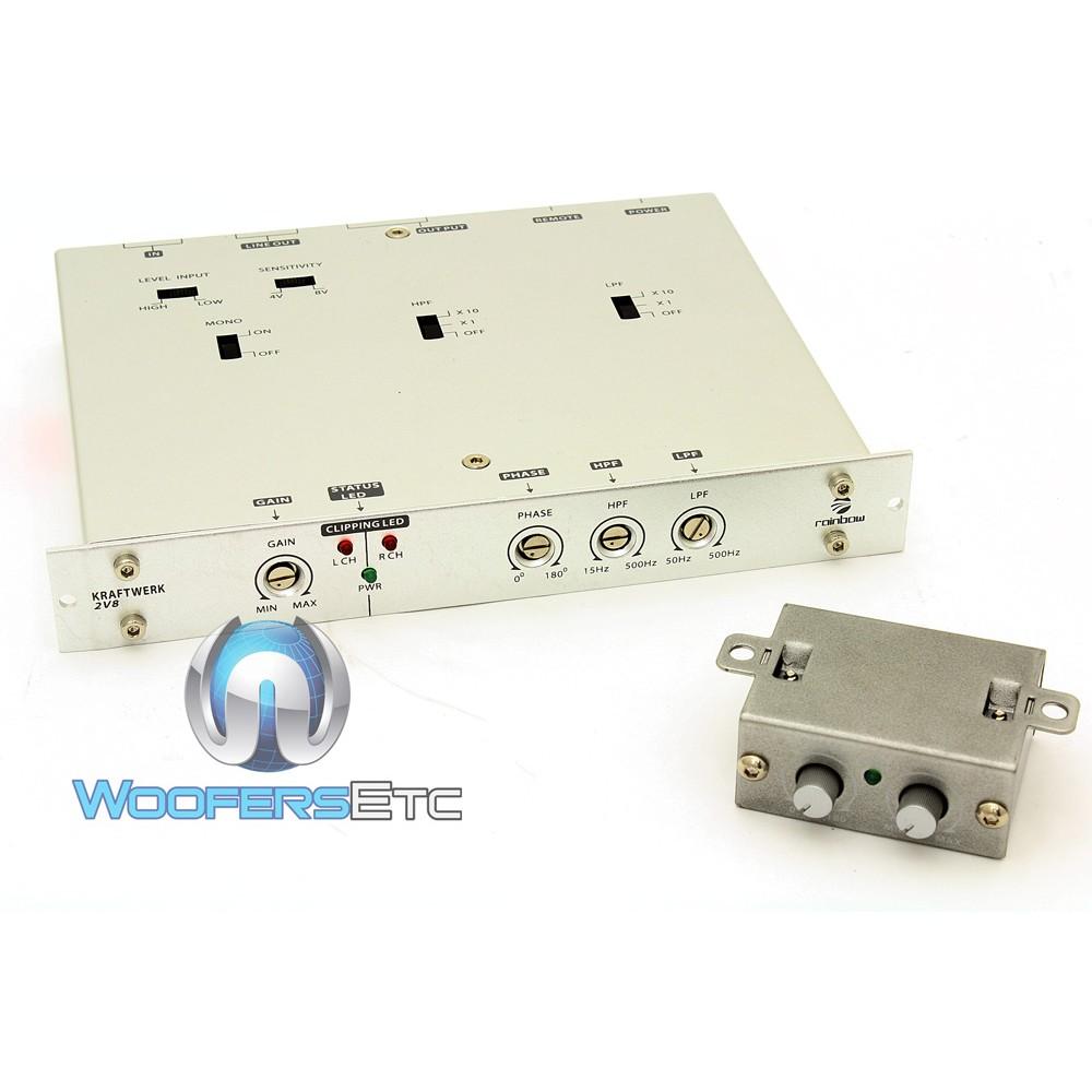 KW 2V8 - Rainbow Kraftwerk 2 Channel Pre-Amp