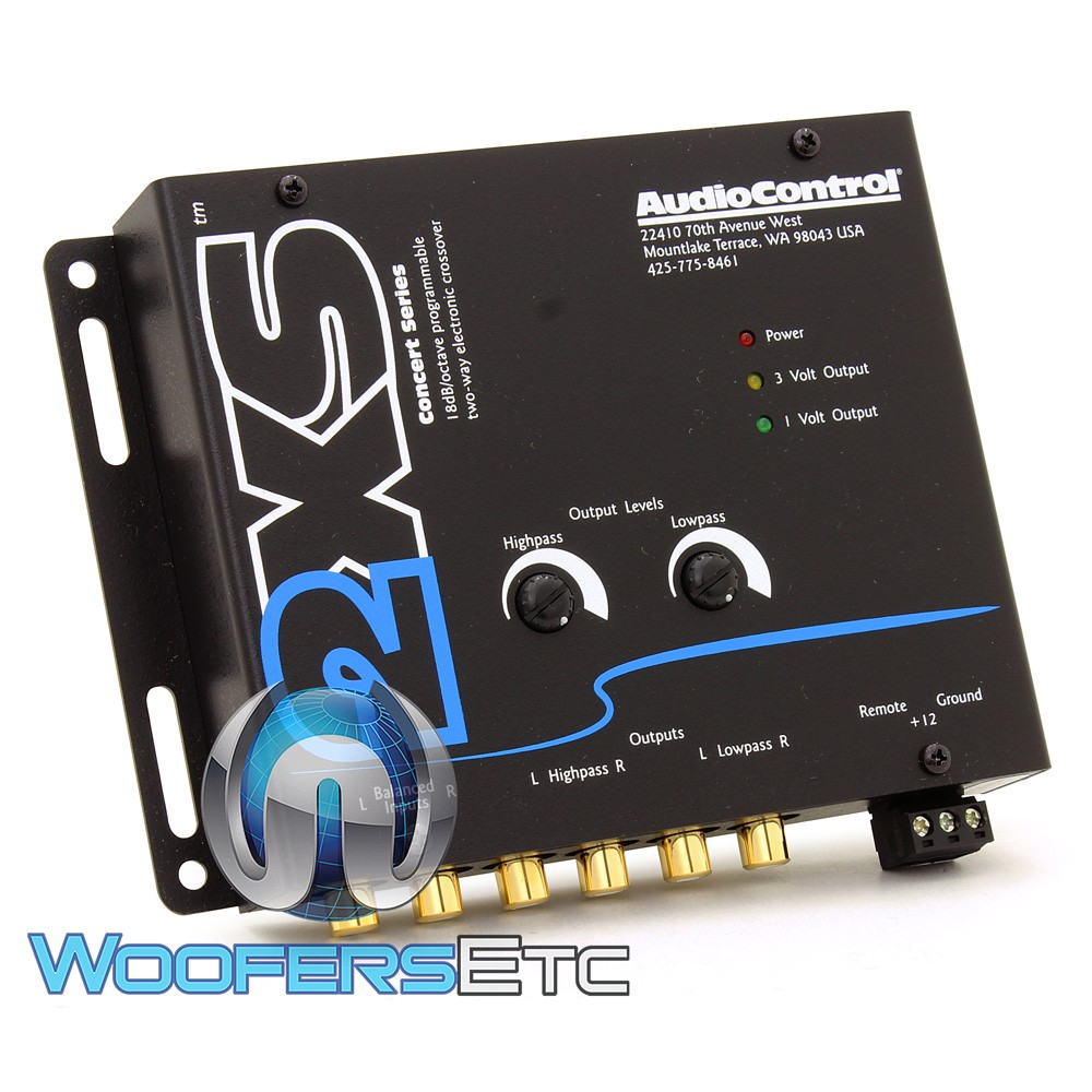 2XS - AudioControl 2 Channel Electronic Crossover