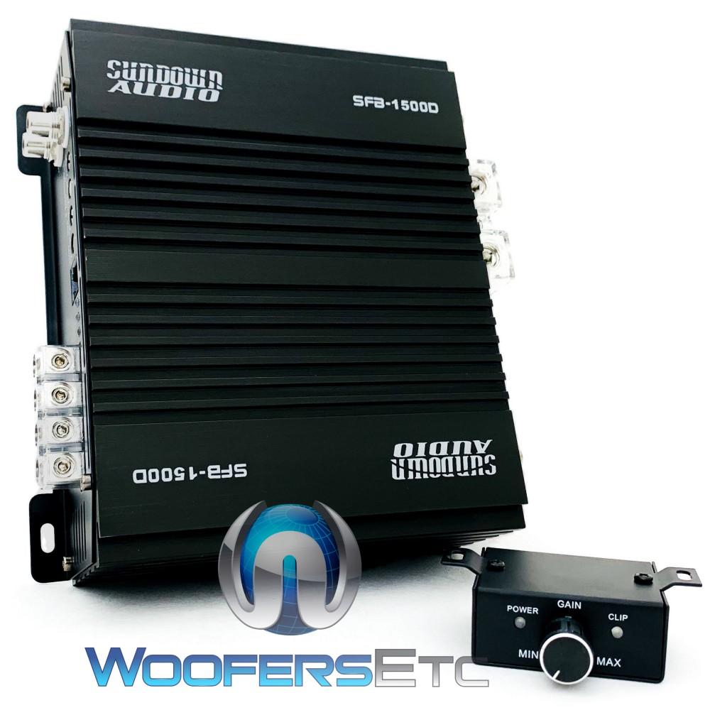 Sundown Audio SFB-1500D Monoblock 1500W RMS Class-D Amplifier