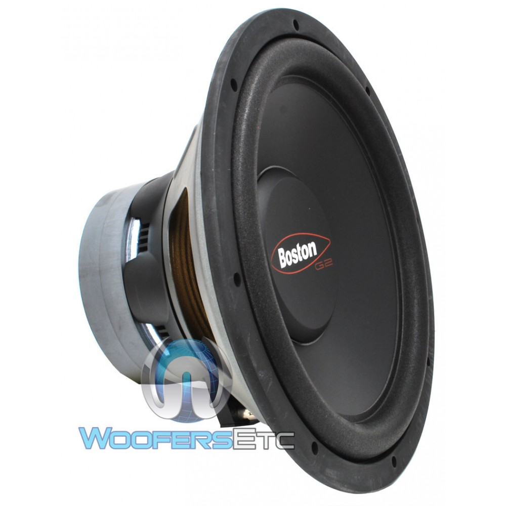 g21244 boston acoustics 12 300 watt dual 4 ohm subwoofer. Black Bedroom Furniture Sets. Home Design Ideas