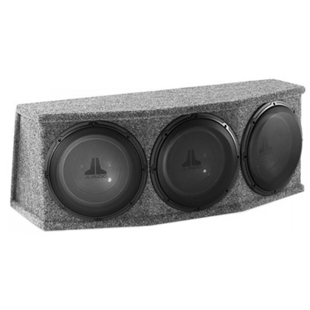 Cs312rg W1v2 Jl Audio Three 12w1v2 8 Sub In High Output Enclosure Inch Subwoofer