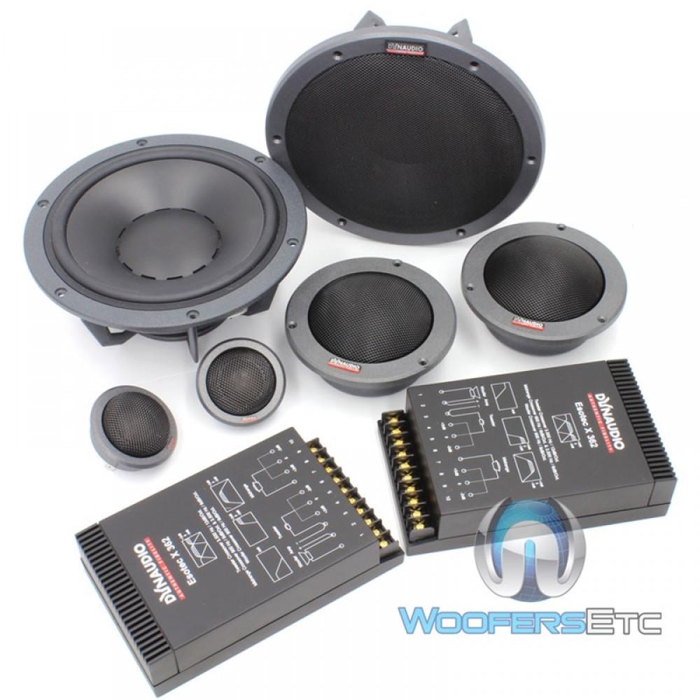 esotec system 362 dynaudio 8 3 way component speakers. Black Bedroom Furniture Sets. Home Design Ideas