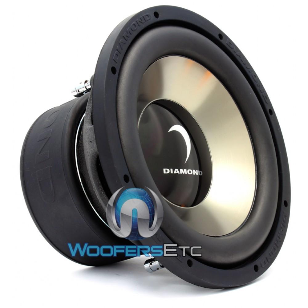 D310d2 2 Diamond Audio 10 Quot 400w Dvc 2 Ohm Subwoofer