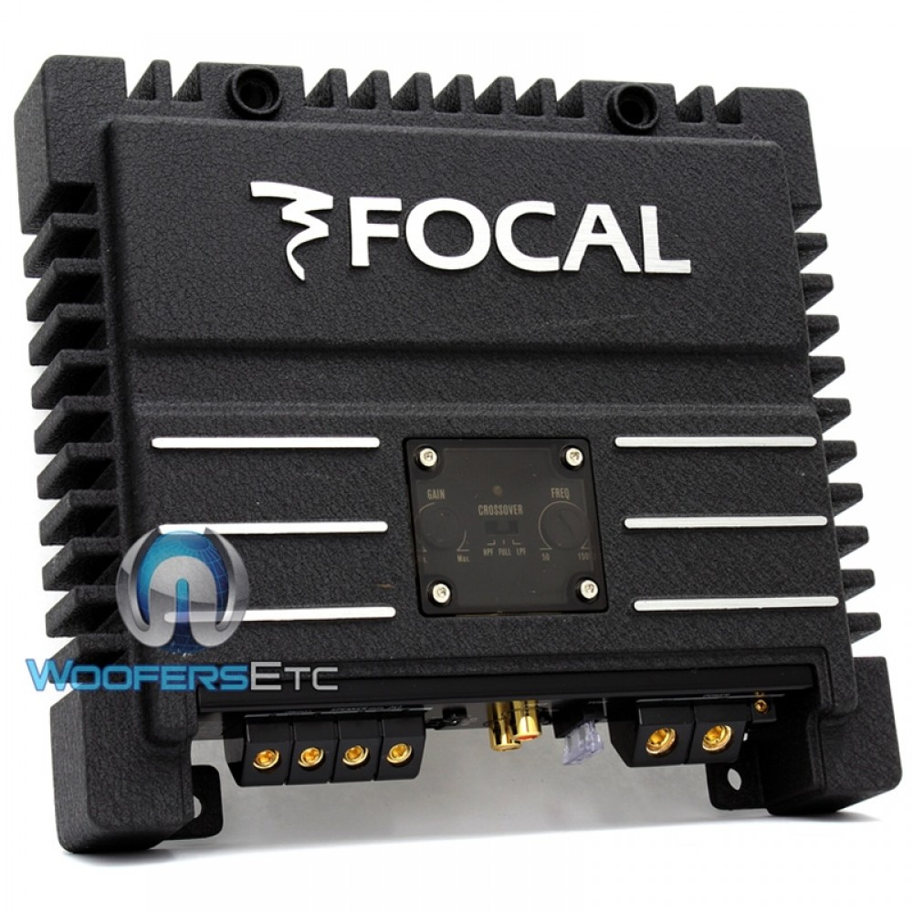 Solid2 - Focal 2 Ch 200 Watt Amplifier (Black)