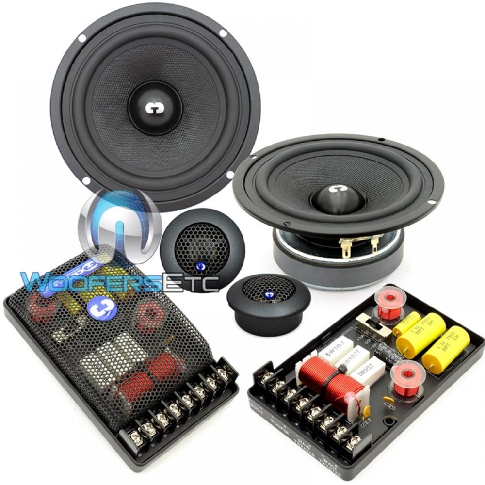 "HD-52 - CDT Audio 5.25"" 2-Way High Definition Component Set"