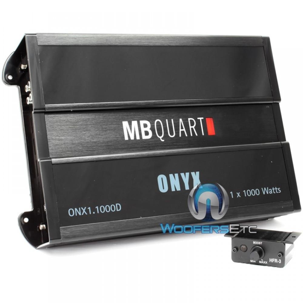 Onx11000d Mb Quart 1000w Rms Onyx Series Class D Monoblock Amplifier Premium Amplifiers Digital Car Audio System 1 Channel