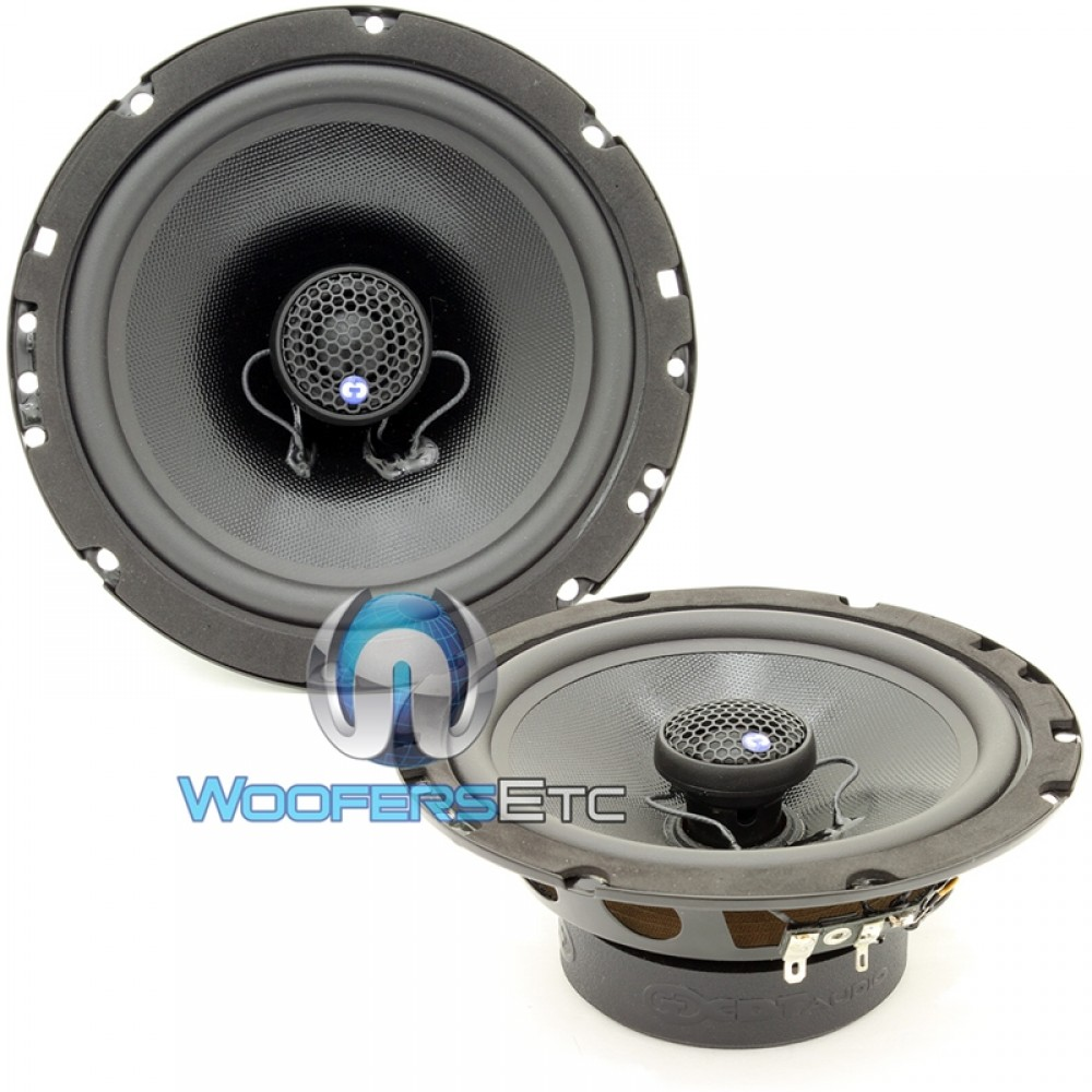 "CL-6EX.2 - CDT Audio 6.5"" 2-Ohm Coaxial Speakers"
