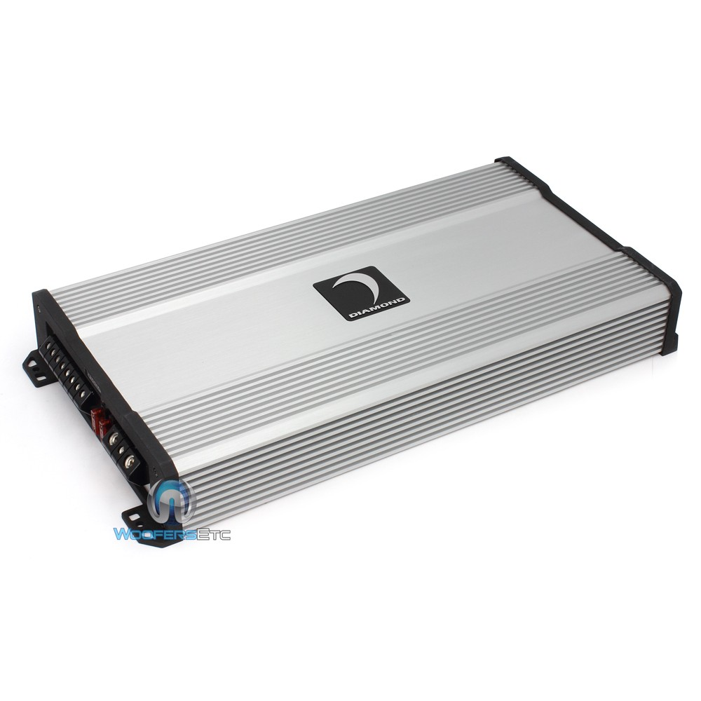 D6004 Diamond Audio 4 Channel 600w Rms Class Ab Amplifier