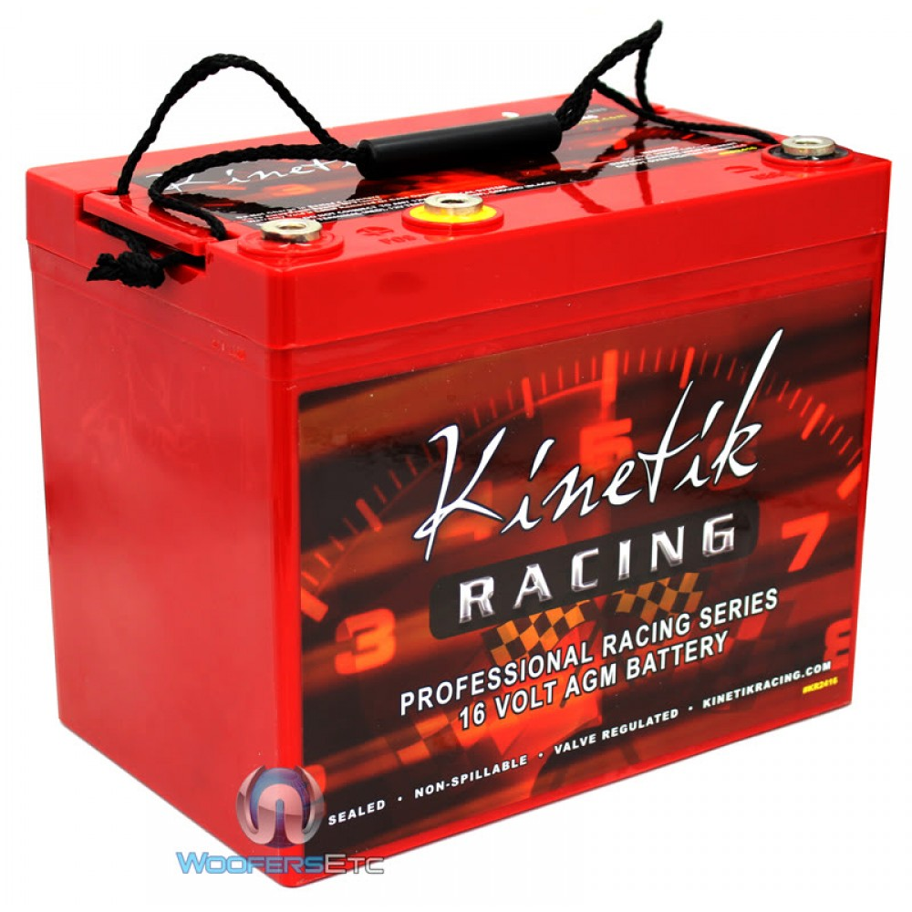 Kr2416 Kinetic 16 Volt Agm Professional Racing Series