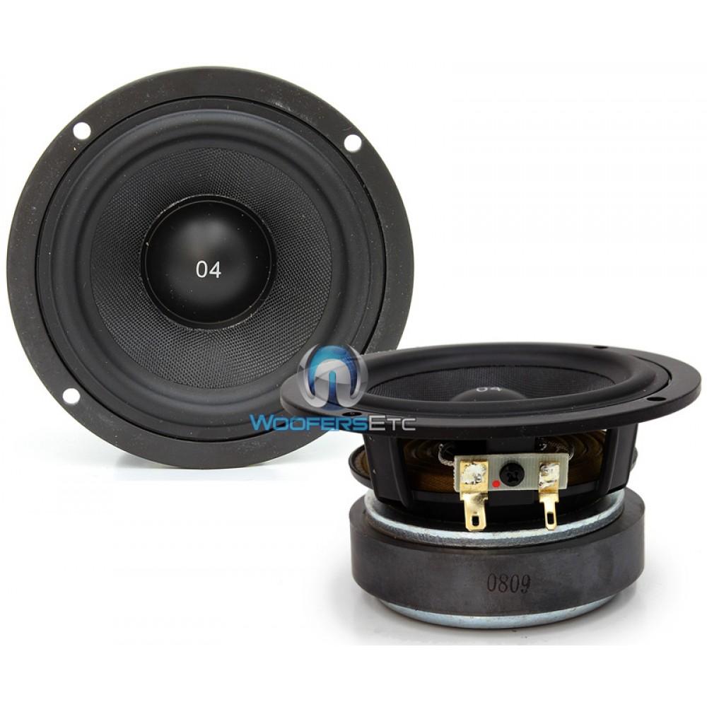 """ES-04 MB Black - CDT Audio 4"""" Midrange Midbass Driver"""