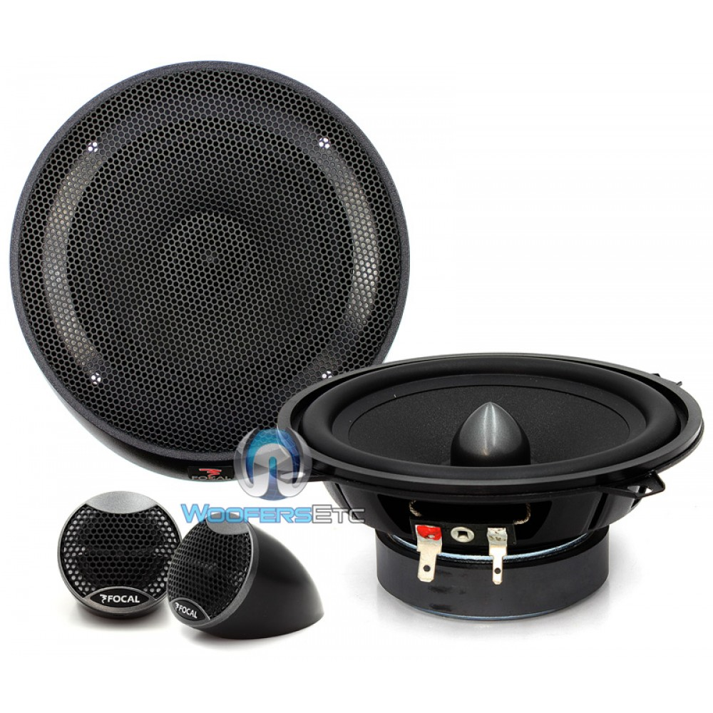"""IS-130 - Focal Integration 5.25"""" 2-Way Component Speakers System"""