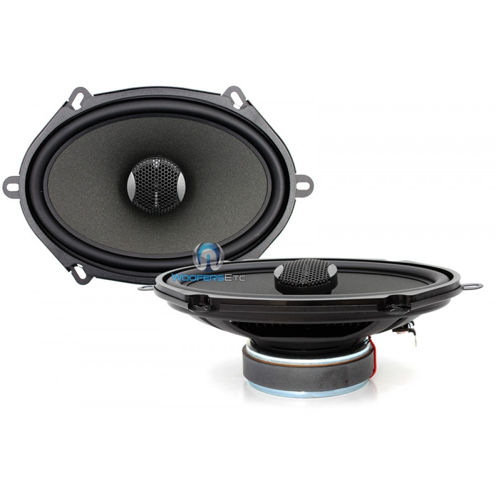 """IC-570 - Focal Integration 5""""x7"""" 2-Way Coaxial Speakers"""